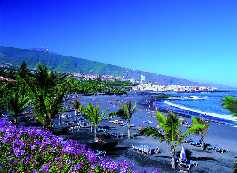 Playa jard n beach tenerife for Aparthotel jardin de playa