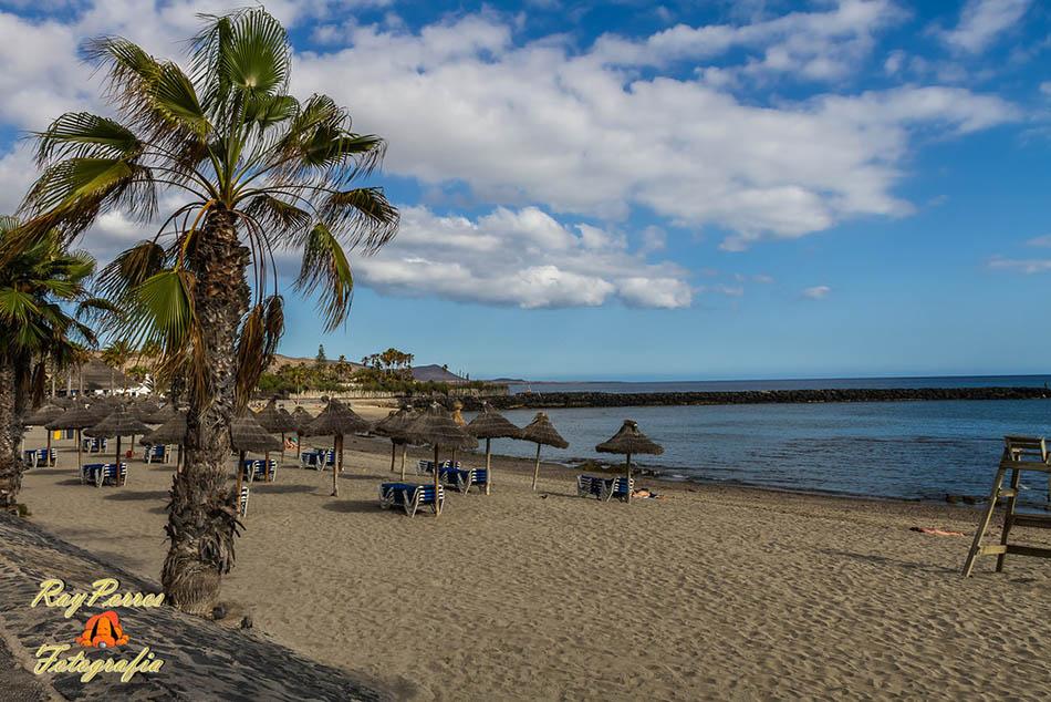 playa de los cristianos beach