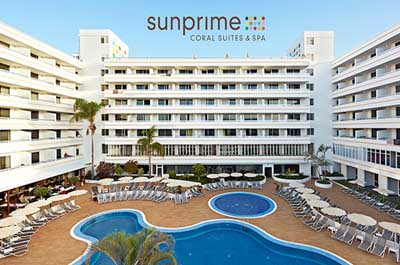 Aparthotel Sunprime Coral Suites AND Spa - Adults Only, Playa de las Américas