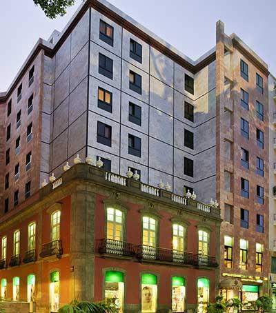 hotel contemporaneo en tenerife: