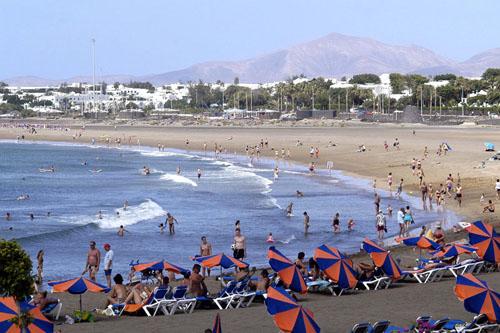 Playa Los Pocillos  Lanzarote