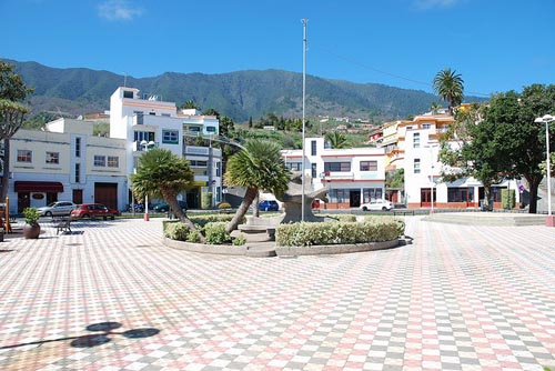 Plaza in Villa de Mazo