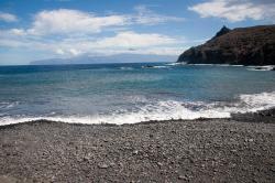Playa La Caleta Beach, La Gomera