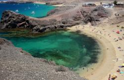 Playas del Papagayo Beaches, Lanzarote, Canary Islands